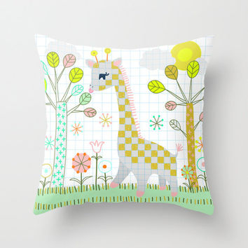 Giraffe Pillow Case