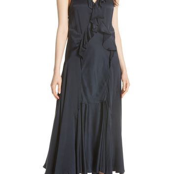 Rebecca Taylor Silk Charmeuse Maxi Dress | Nordstrom
