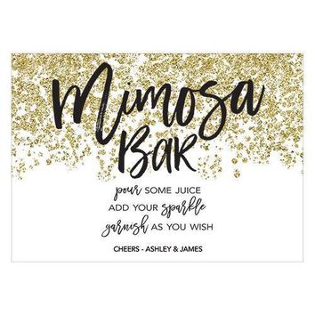 Sparkle Large Card Table Sign (Pack of 1)