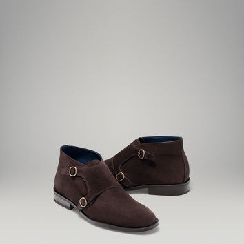 DOUBLE BUCKLE ANKLE BOOT - Classic - MEN - United States of America / Estados Unidos de América