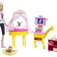 Barbie I Can Be Zoo Doctor Doll Playset