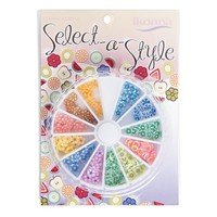 Select-A-Style Wheel Nail Decorations