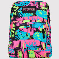 Jansport Superbreak Backpack Black/Fluorescent One Size For Men 19515195701