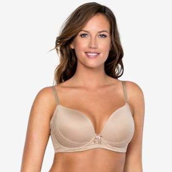 Parfait Casey Plunge Molded Bra in European Nude