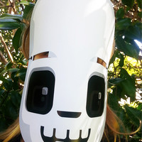 Halloween Skeleton paper activity. Instant download. Printable Skeleton mask. Make you own Skeleton banners and  bunting!