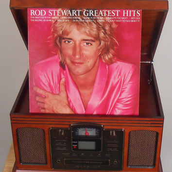 Vinyl Record - Rod Stewart - Greatest Hits Vol. 1 -  Vintage Vinyl Record 1979