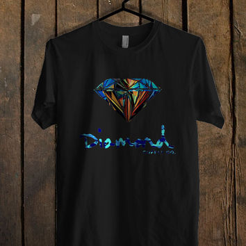Diamond Supply Co Custome Mens T Shirt *
