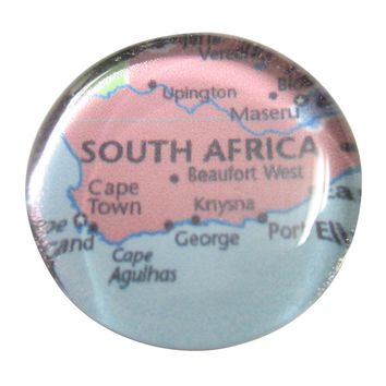South Africa Map Pendant Magnet