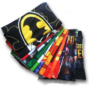 Deadpool Dead pool Taco Superhero Movie The Avengers Game PUBG Iron Man  Batman Captain America Cosplay Costumes Props Bath Towel Gift AT_70_6