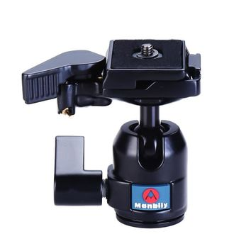 Manbily M-10 Professional Tripod Heads,Universal Ball Head with Fast Mounting Plate for Camera Canon Nikon