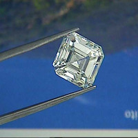0.95ct F-VS1 Asscher cut Loose Diamond GIA certified JEWELFORME BLUE