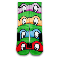 TMNT Custom Elite Socks