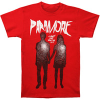 Paramore Men's  Light Hearted Slim Fit T-shirt Red Rockabilia