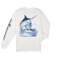 Guy Harvey Men's Marlin Boat Long Sleeve T-Shirt - Dick's Sporting Goods
