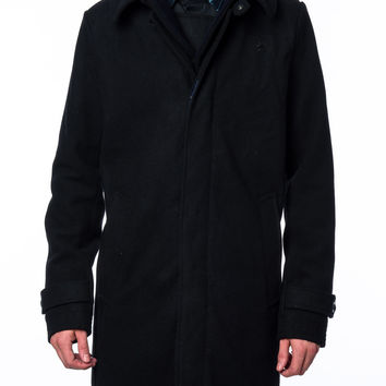 G-Star Wool James Trench Black Jacket