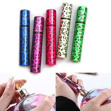 8ml Cute Portable Empty Aluminum Leopard Perfume Atomizer Spray Mini Bottles Women Fashion = 1705754628