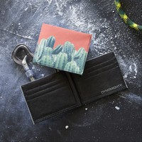 Cactus on Coral Wallet