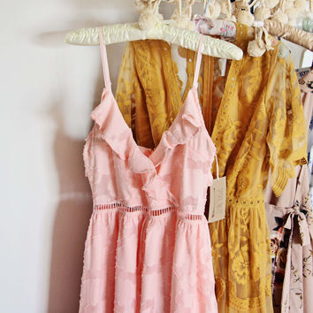 Sweet Peony Maxi Dress