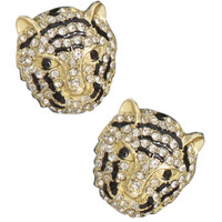 Lion Bling Stud Earring | Shop Jewelry at Wet Seal