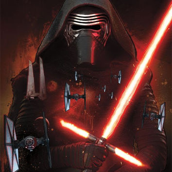 SWTFA - Kylo Ren Movie Poster 23x32 RP13969 UPC882663039692 Star Wars The Force Awakens