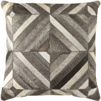 Surya Lycaon Throw Pillow Neutral, Brown