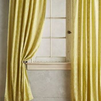 Quadrille Curtain by Anthropologie