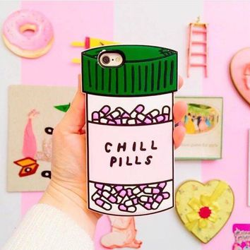 Chill Pills iPhone 6 or 6 Plus Case