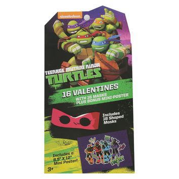 Teenage Mutant Ninja Turtles Masks Valentine's D... : Target