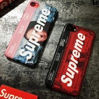 Supreme The Mona Lisa phone case shell  for iphone 6/6s,iphone 6p/iphone 6sp,iphone 7/8,iphone 7p/8p iphonex