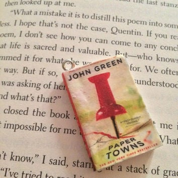 Paper Towns Pendent/Charm
