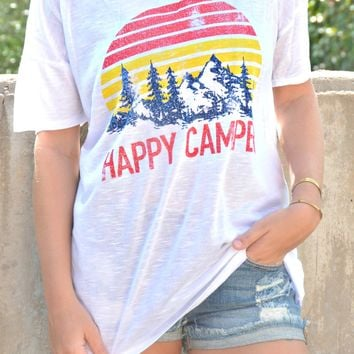 Happy Camper Top