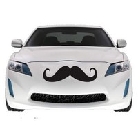 "Mustache Car Decal , Vinyl Sticker, Large 2 PACK, 22"": Home & Kitchen"