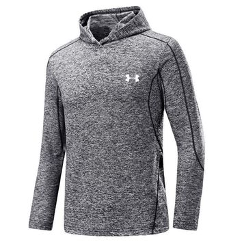 UNDER ARMOUR Women Men Lover Top Sweater Hoodie Grey One-nice™