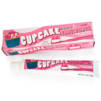 Cupcake Toothpaste at Firebox.com