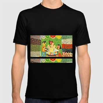 The cup of Rosalia | Full of fairy tales | Painting by Elisavet T-shirt by Azima