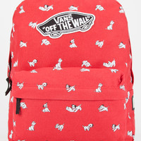 Vans Disney Realm Backpack Red One Size For Women 26523130001
