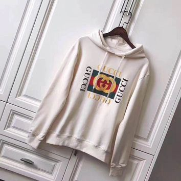 ONETOW GUCCI Women/Man Snake Sequins Embroidery Top Sweater Pullover Hoodie