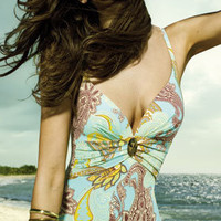 Maryan Mehlhorn 2010: Oriental Club B & C Cup One Piece Bathing Suit V Neck One Piece 4651