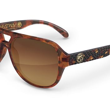 Supercat Sunglasses: Rattle Snake Customs