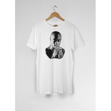 Tupac Praying 2pac Unisex T Shirt