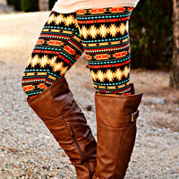 NATIVE NIGHTS LEGGINGS