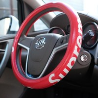 SUPREME Car Acessory Stylish Steer Wheel Cover