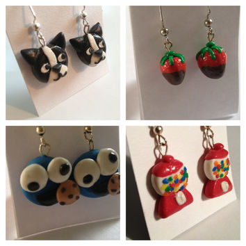 Choose 4 Earring Sets  by BluWatermelonDesigns on Etsy