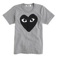 J.Crew Womens Play Comme Des Garcons Black Heart T-Shirt