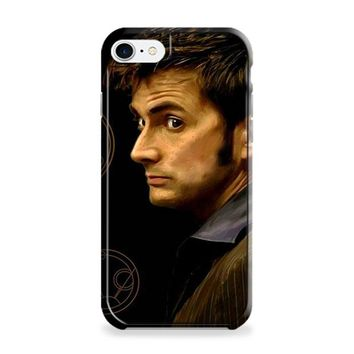 Tenth Doctor With Gallifreyan iPhone 7 | iPhone 7 Plus Case