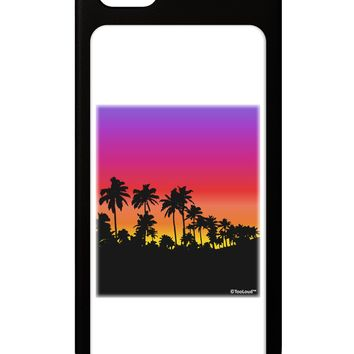 Palm Trees and Sunset Design iPhone 5 / 5S Grip Case  by TooLoud