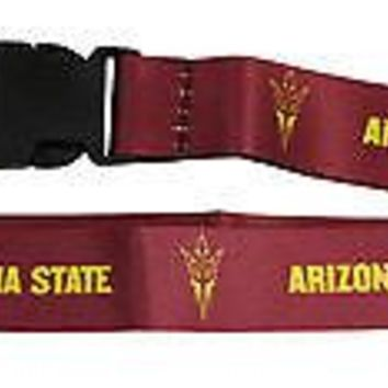 Arizona State Sun Devils 2-sided Premium Breakaway Lanyard w/Keychain University