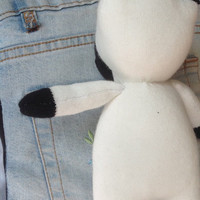 Cow sock toy