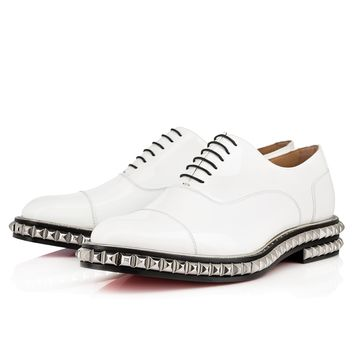 Cedalion Flat White Patent Leather