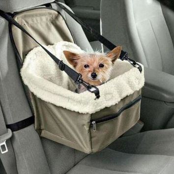 ICIKGQ8 car seat pet safety travel safe pet lookout dog cat booster seat dog cat carrier gift 2